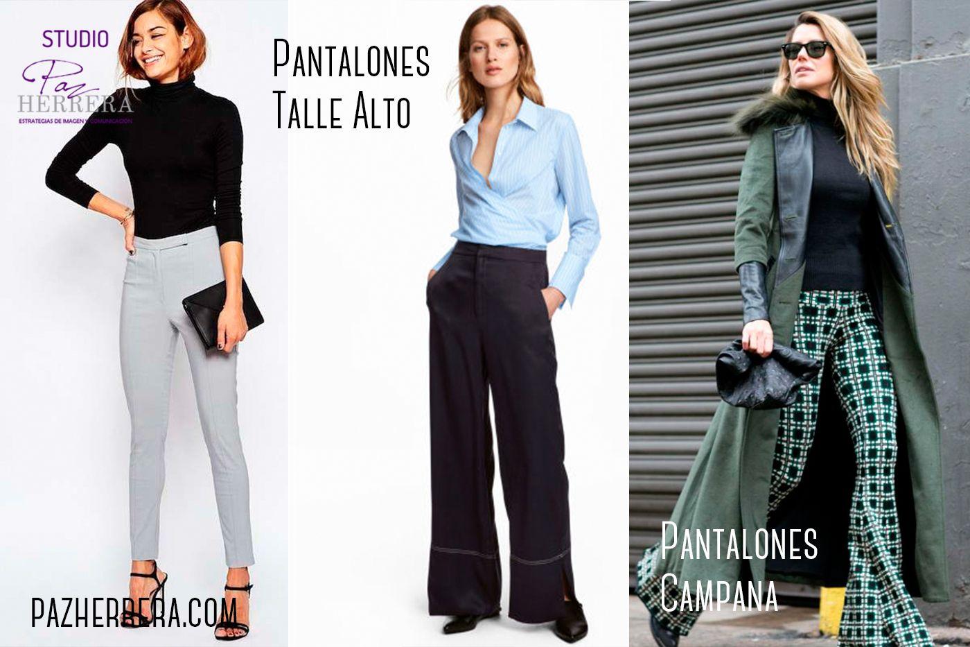 Fotografia Pantalones Talle Alto y Pantalones Campana Invierno 2017