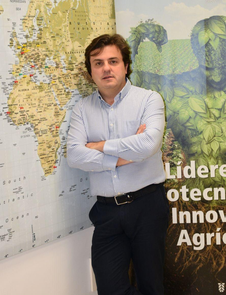 Foto de Jesús Juárez, CEO de Symborg.
