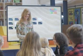 Un 15% de aulas españolas todavía sin Pizarra Digital o Display interactivo táctil