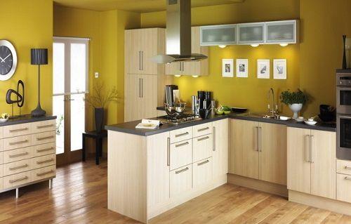 C mo elegir los colores para la cocina notas de prensa for Colores recomendados para cocinas