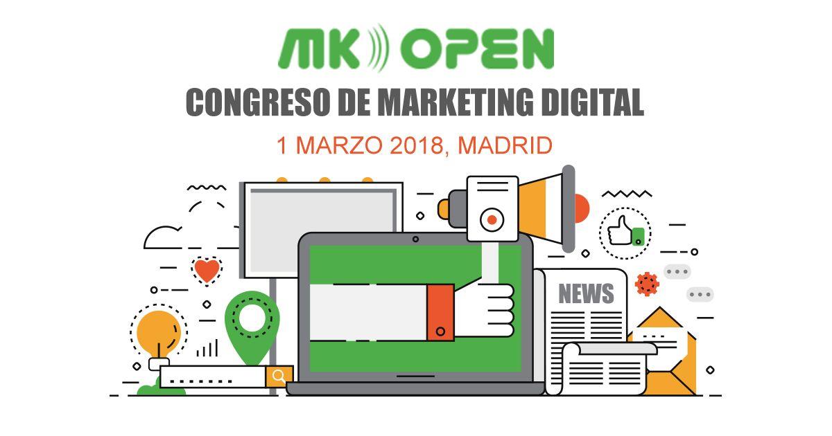 Foto de MK Open Madrid, Congreso de Marketing Digital