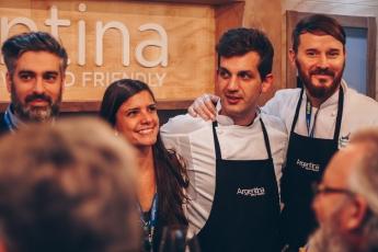 Argentina deleita en Madrid Fusión con su gastronomía y enología