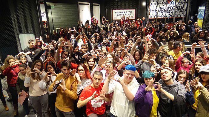 Foto de Presentación campaña Voluntarios Viajeros en Valencia