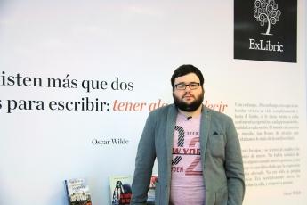 Iván Canet, profesor de la Escuela Internacional de Escritores