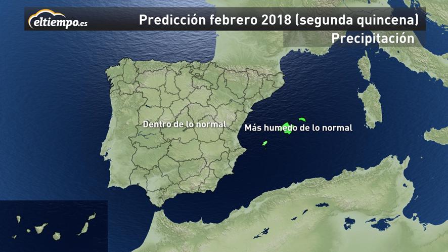 Foto de Mapa Precipitación Segunda Quincena