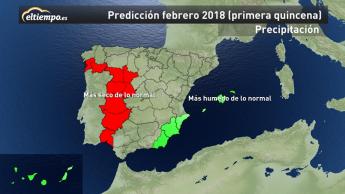Foto de Mapa Precipitación Primera Quincena
