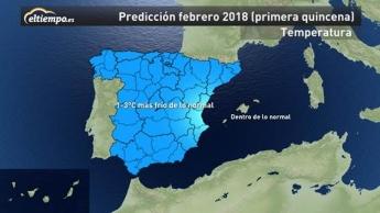 Foto de Mapa Temperatura Primera Quincena