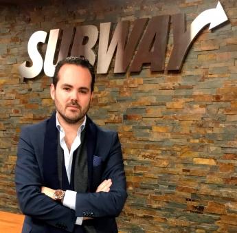 Alejandro Jiménez Solá, nuevo Agente de desarrollo de Subway en la Comunidad de Madrid