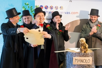 Foto de Celebración primer día de la marmota en España