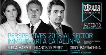 La segunda edición del Tribuna Sant Cugat Empresarial abordará las perspectivas del sector inmobiliario