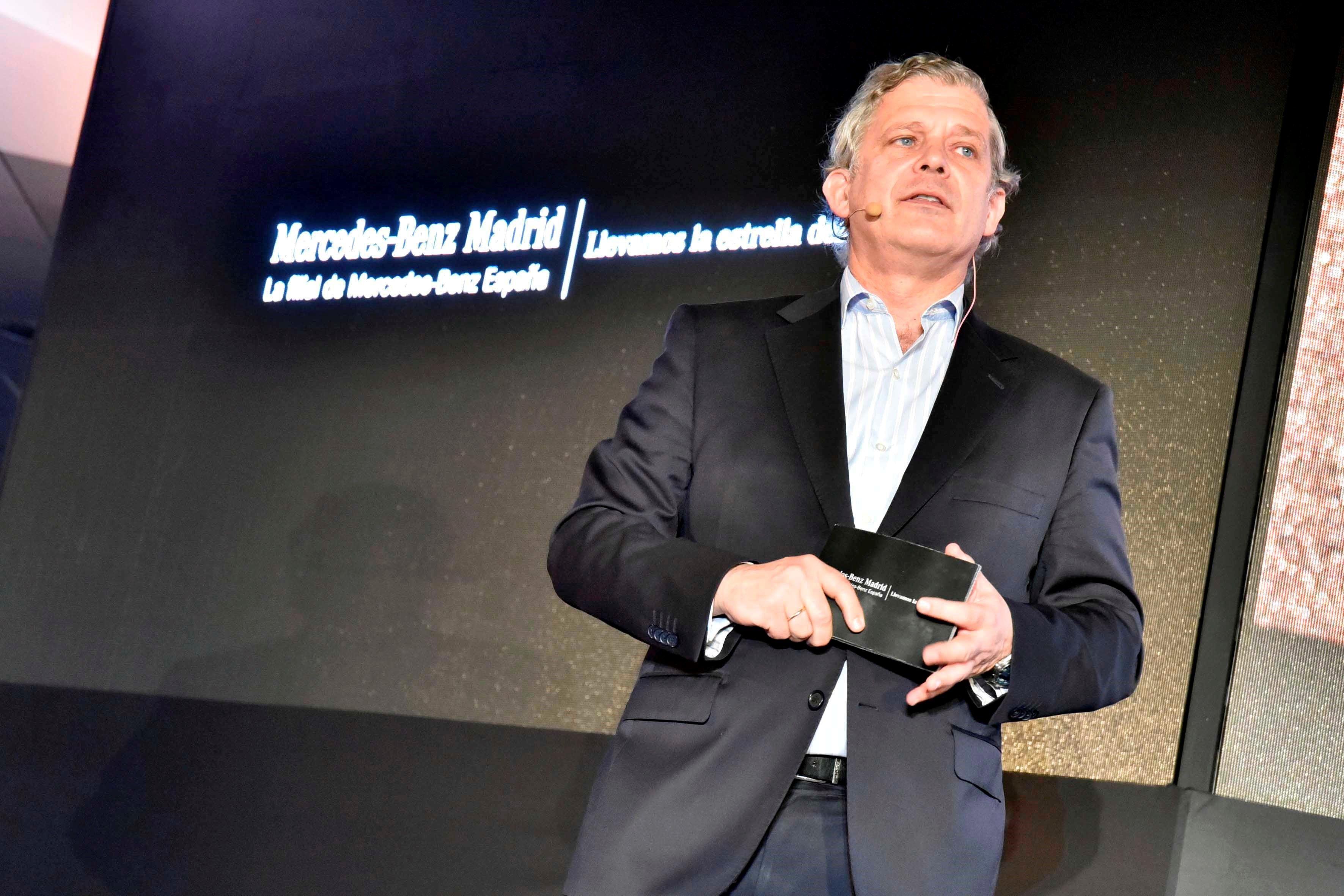 Fotografia Eduardo García-Oliveros, presidente de Mercedes-Benz