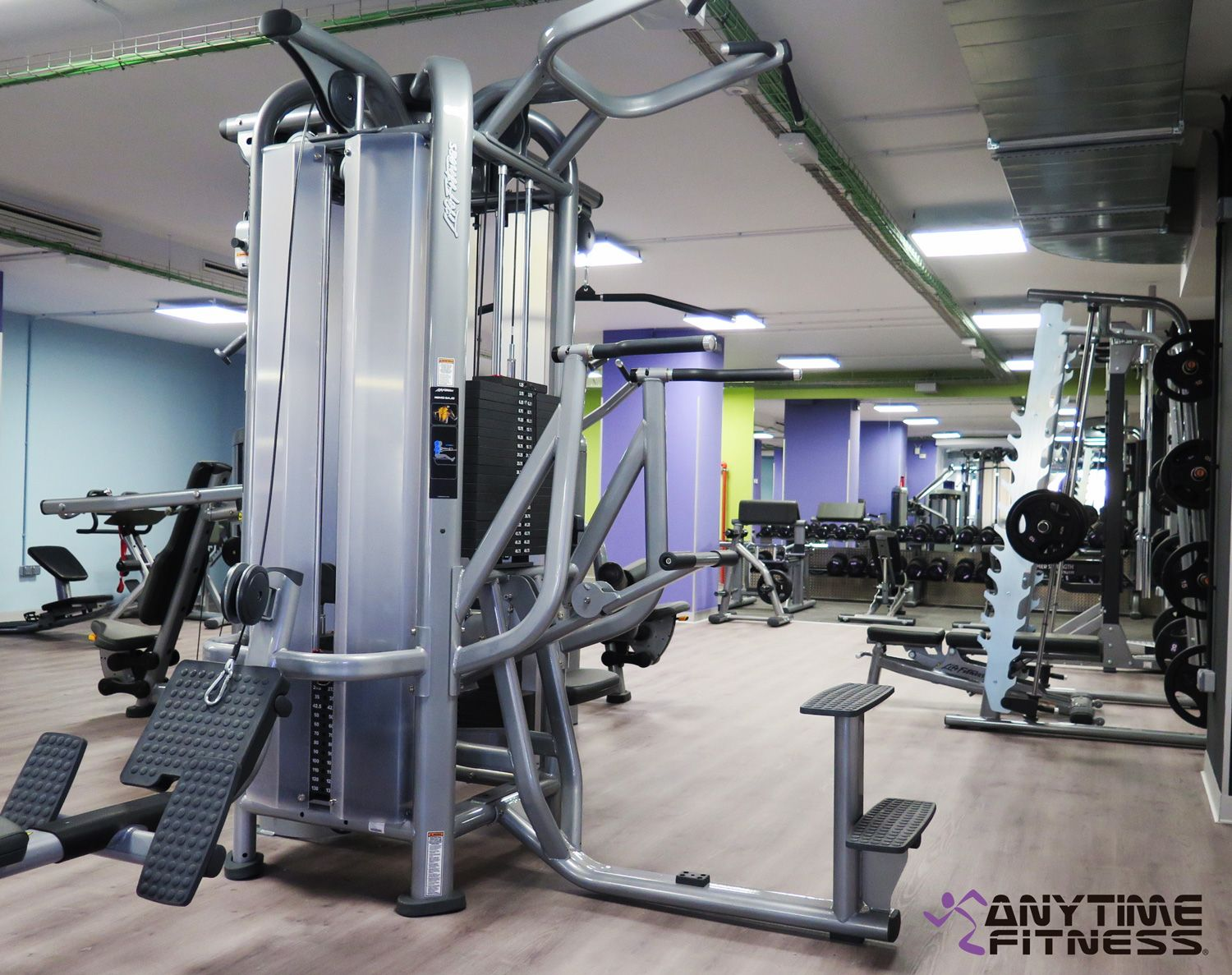 Anytime fitness inaugura su cuarto club en madrid for 24 horas gym