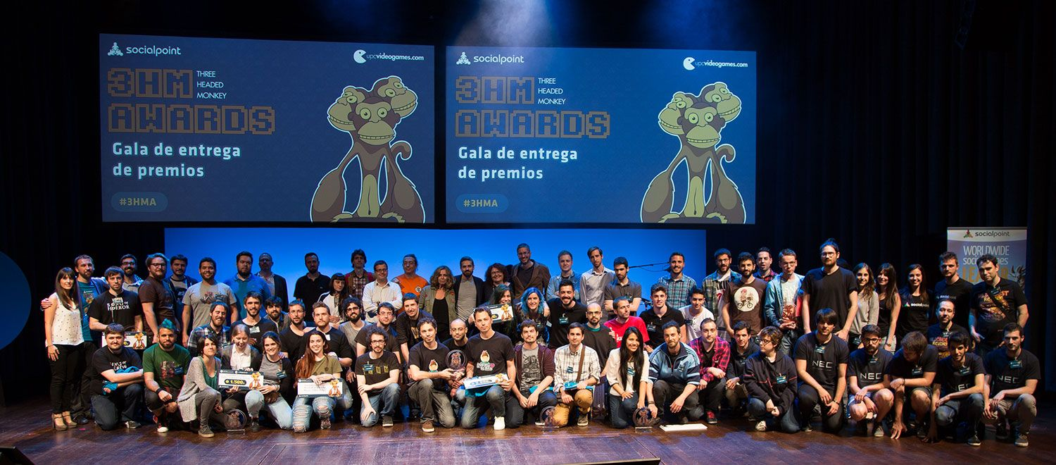 Vuelve el concurso de videojuegos Three Headed Monkey Awards de la UPC School