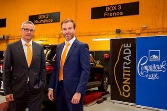 Los Centros de Freno ATE y ContiTrade llegan a un nuevo acuerdo de colaboración