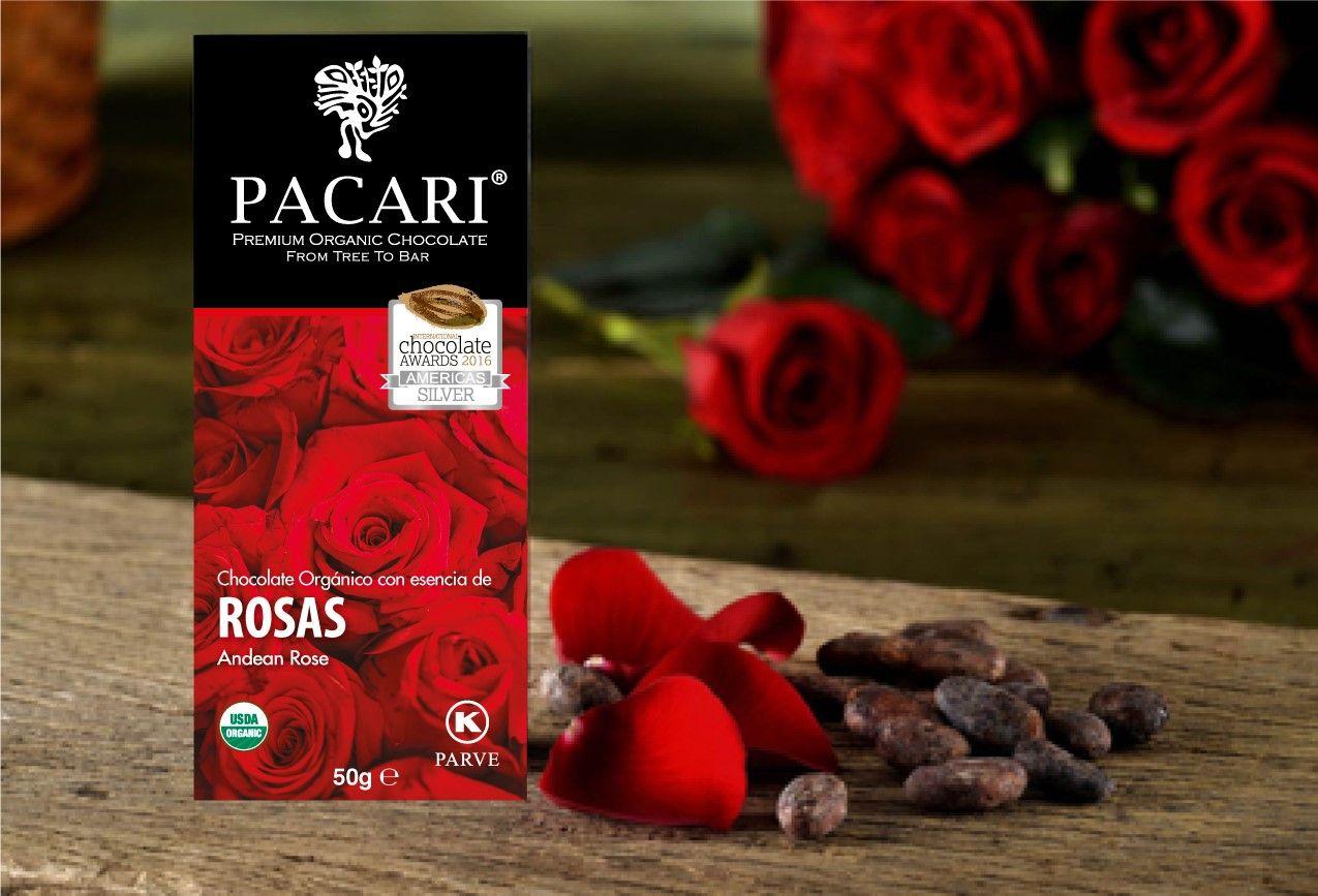 Foto de Chocolate Pacari con Rosa Andina