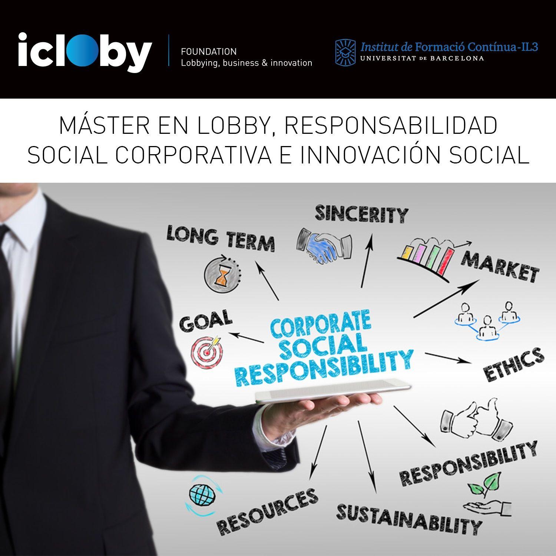 Foto de Máster en Lobby, Responsabilidad Social Corporativa e