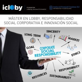 Fundación Icloby presenta nuevo máster en Lobbying, Responsabilidad Social Corporativa e Innovación Social