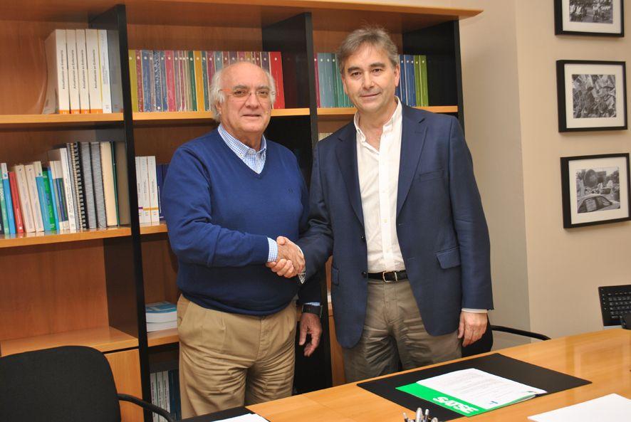 Foto de Acuerdo entre SATSE y el CGCFE