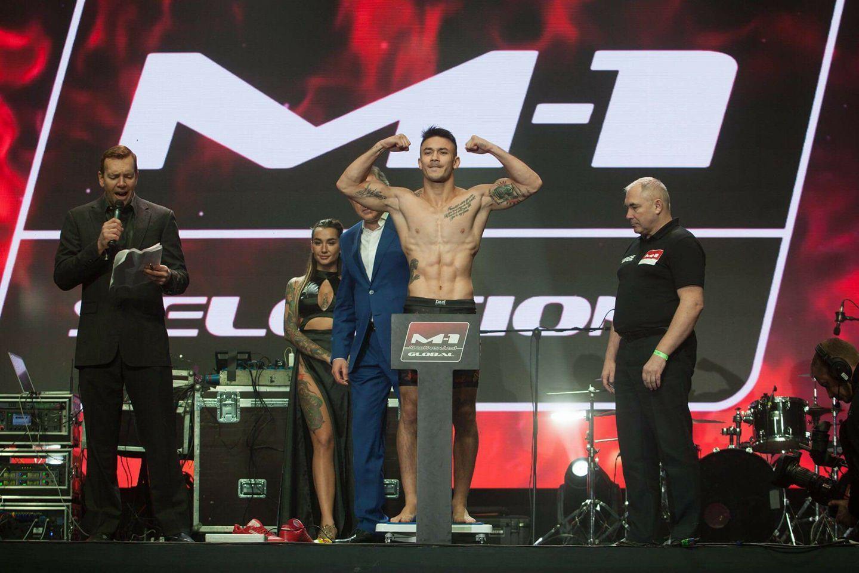 Foto de Tino Gilaranz, campeón en M1 Challenge 87