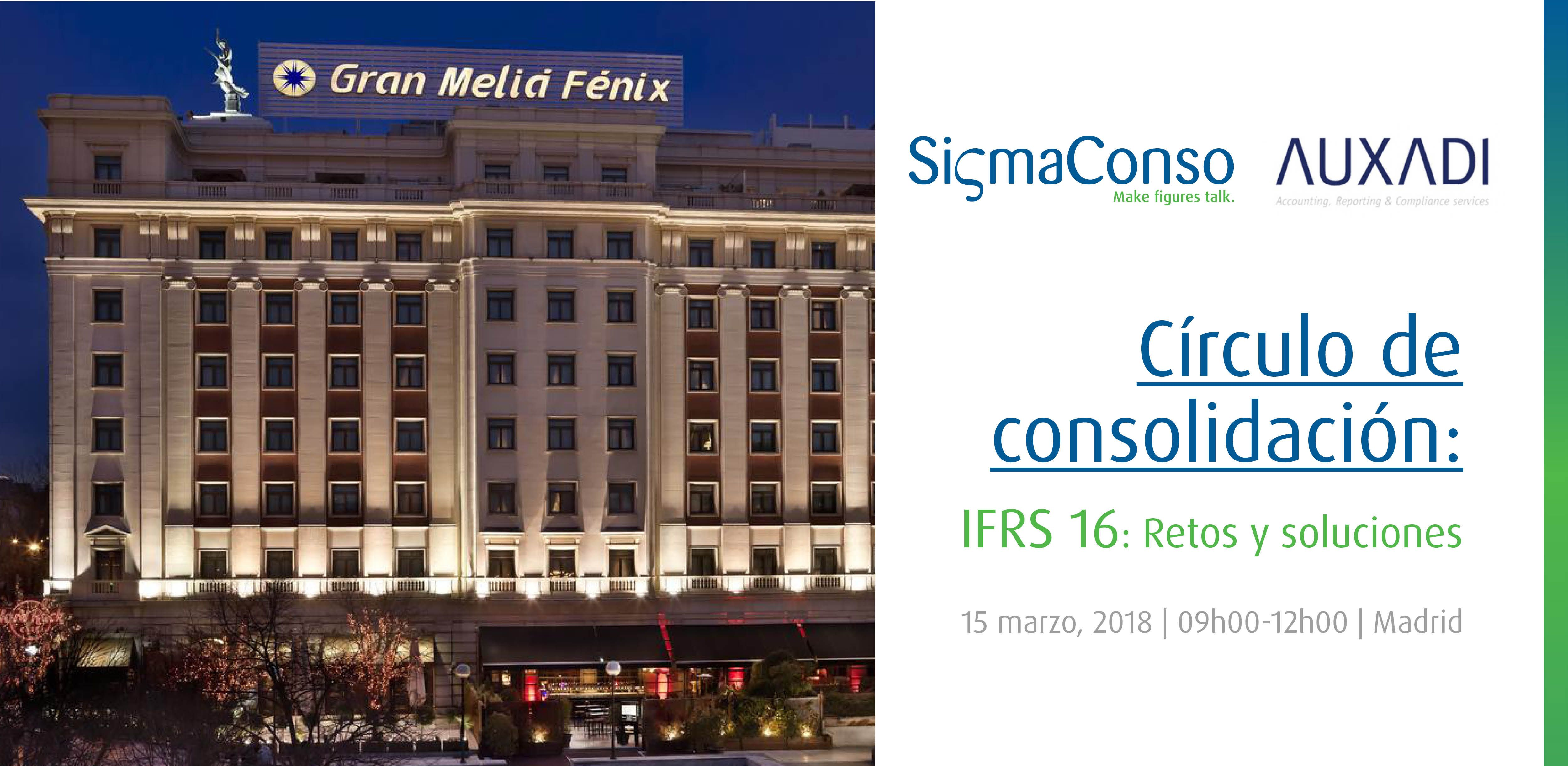 Foto de Círculo de consolidación - IFRS 16: Retos y soluciones