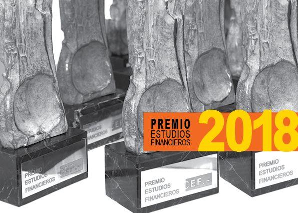 Foto de Cartel Premio Estudios Financieros CEF.-