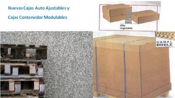 Sisdem lanza dos nuevas cajas de cartón con tamaño palet
