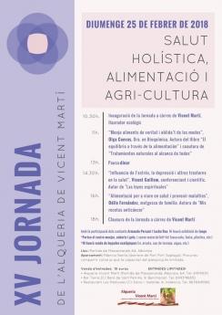 XV Jornada Agroecològica Alqueria Vicent Martí