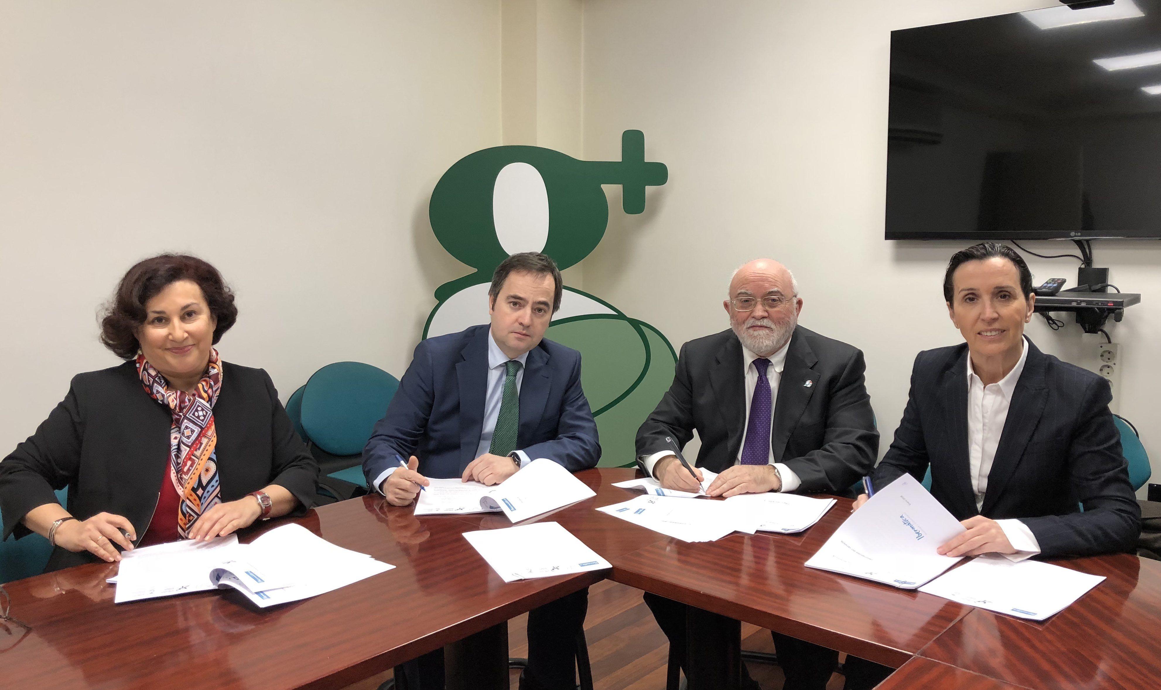 Foto de Imagen de la firma del acuerdo entre los responsables de los