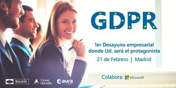 GDPR: ya es conocido, pero ¿Se sabe cómo aplicarlo en la empresa?