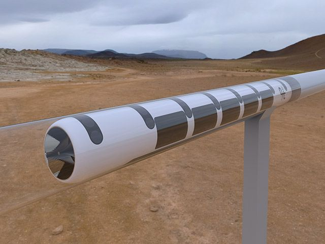 Foto de HYPERLOOP