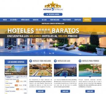 Aumentan las reservas de hoteles de 5 estrellas gracias a Hoteles5E
