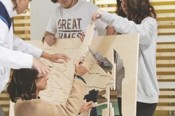 Taller de creación de objetos, organizado por IED Madrid