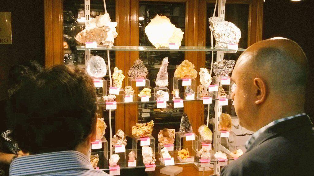 Fotografia Puestos comerciantes Expominerales Madrid 2018