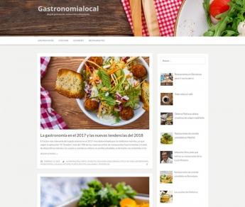 Nuevo blog de artículos sobre gastronomía y restaurantes