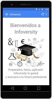 Infoversity, la aplicación que guía y acerca al usuario a su futuro profesional