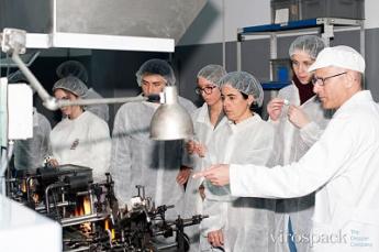 Foto de Vista a la fábrica Virospack