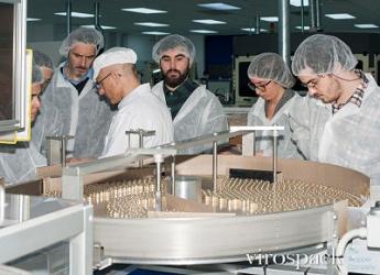 Foto de Estudiantes de ELISAVA Vistan la fábrica Viropack