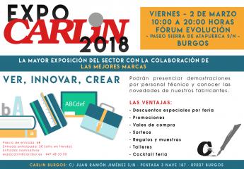 Carlin celebra en Burgos la Feria 'Expo Carlin 2018'