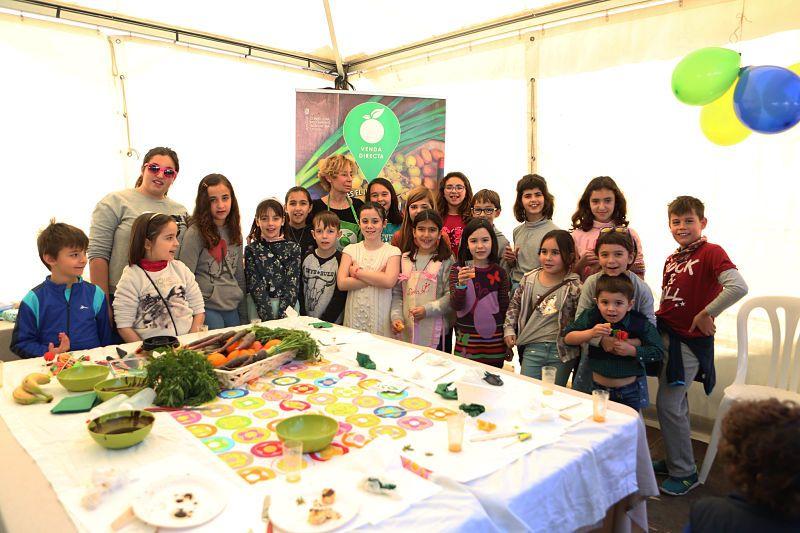 Un taller de cocina saludable para ni os entre las for Taller cocina ninos