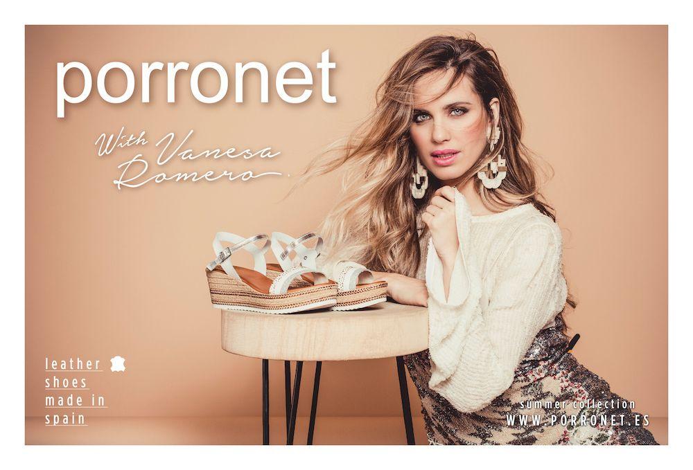 Vanesa Romero, nueva imagen de Porronet
