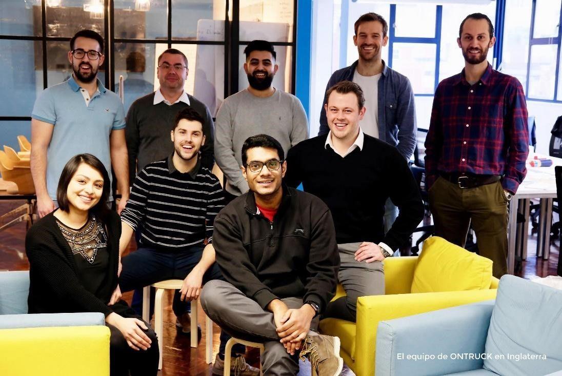 OnTruck aterriza en Reino Unido y comienza a operar en Londres