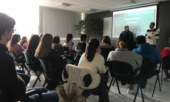 Alumnos de bachillerato visitan SPYRO en el marco del Foro de la Experiencia de Formación Profesional