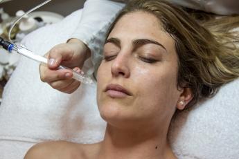 Foto de Oxígeno para mejor higiene facial