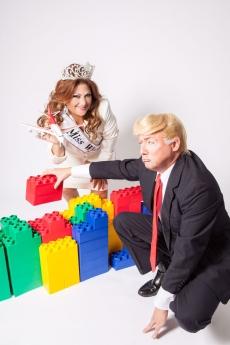 Foto de Miss Wynwood & Donald Trump