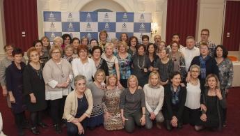 Foto de FOTO de familia de las enfermeras guipuzcoanas homenajeadas