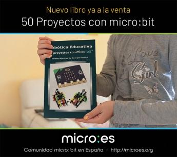 La popular tarjeta programable micro:bit llega a España de la mano de Microes.org