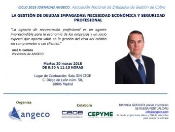 Foto de Jose R. Cadena Presidente de ANGECO