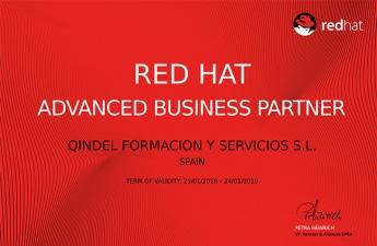 Qindel Group es reconocido como Red Hat Advanced Business Partner
