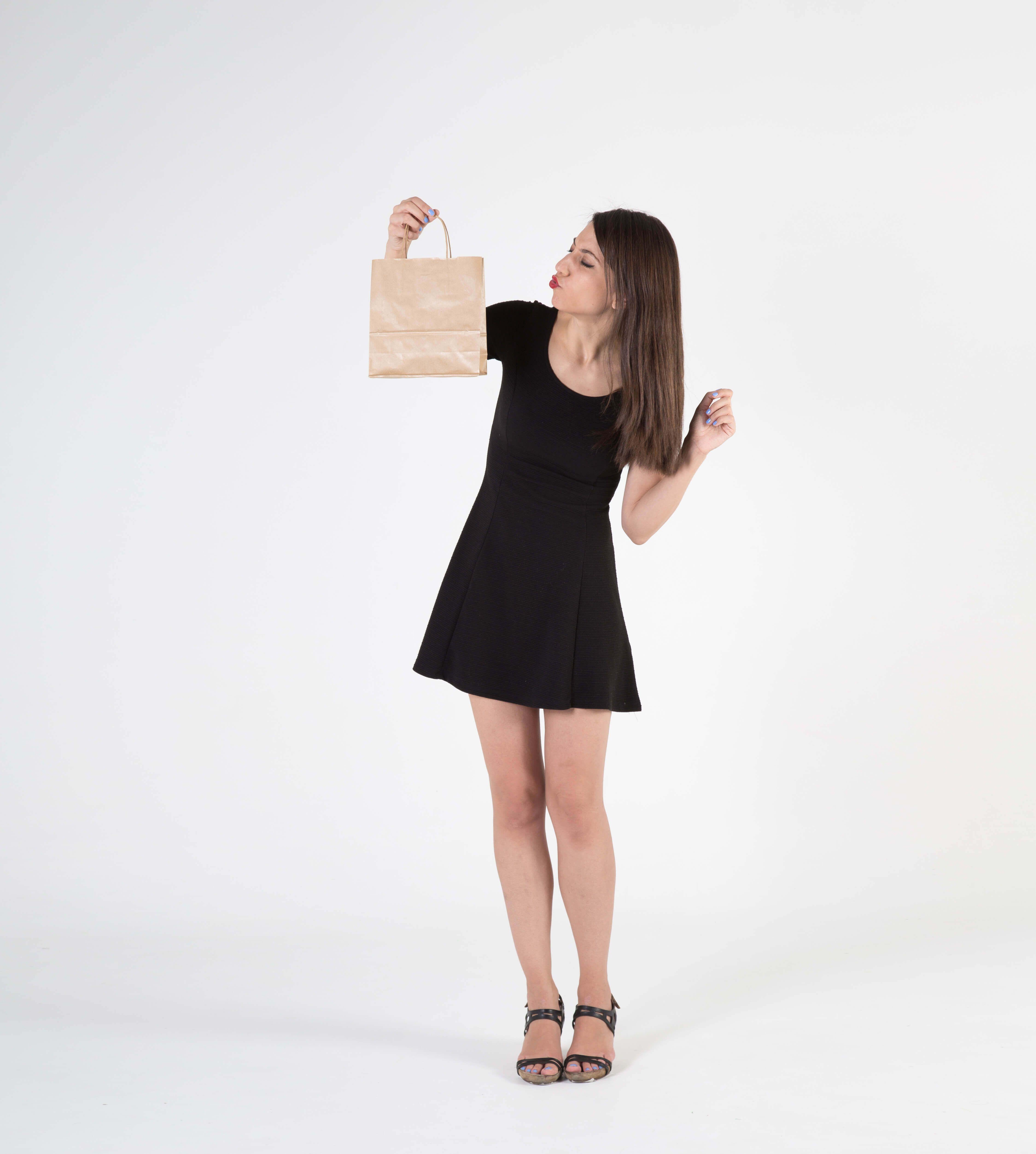 Fotografia Bolsas de papel, biodegradables y reutilizables