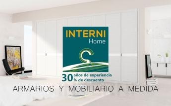 INTERNI Home cumple 30 años trabajando por un mobiliario de calidad